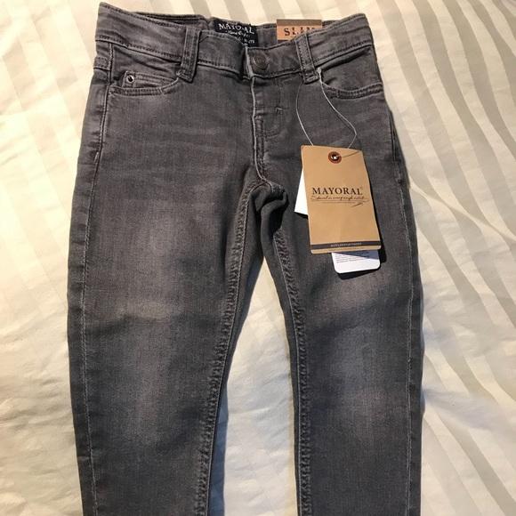 dfadb183 Mayoral Bottoms | Brand New Boys Grey Jeans | Poshmark